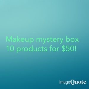 MAKEUP MYSTERY BOX! 10 ITEMS!